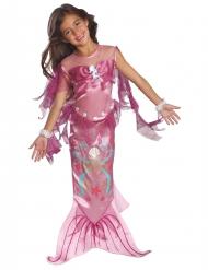 Disfraz sirena rosa para niña