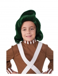 Peluca Oompa Loompa™ Charlie y la fábrica de chocolate™ niño