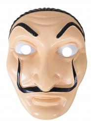 Máscara pintor ladrón plástico adulto