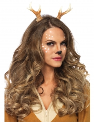 Diadema ciervo mujer
