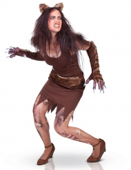 Disfraz hombre lobo mujer