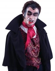 Máscara transparente vampiro adulto
