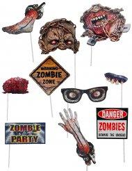 Photocall zombie 10 accesorios