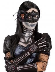Guantes esqueleto Día de los muertos mujer
