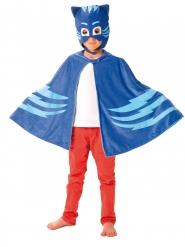 Capa y máscara Gatuno Pj Masks™ niño