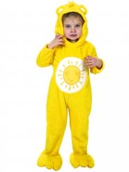 Disfraz mono amarillo Los osos amorosos™ niño