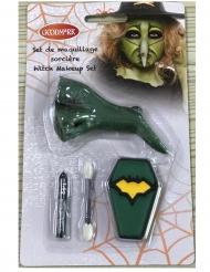 Mini kit maquillaje bruja y nariz