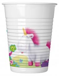 8 Vasos Minions Unicornio™ 200 ml