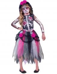 Disfraz Día de los muertos niña