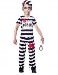 Disfraz prisionera zombie niño