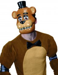 Máscara PVC Freddy™ videojuego Five nights at Freddy