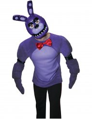 Semi máscara PVC Bonnie™ videojuegos Five nights at Freddy´s™ adulto