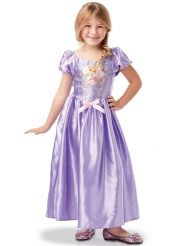Disfraz clásico con lentejuelas Rapunzel™ niña