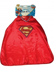 Capa y diadema Supergirl™ Super Hero Girls™ niño