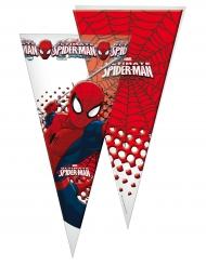 10 Bolsas de fiesta Spiderman™ 30 x 60 cm