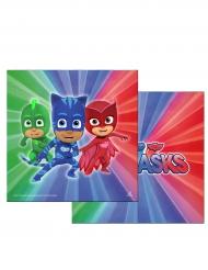 20 Servilletas de papel PJ Masks™ 33 x 33 cm