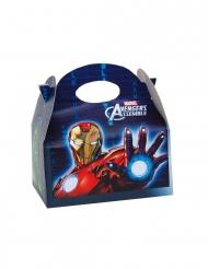 4 Cajas de cartón Avengers™ 16 x 10.5 x 16 cm