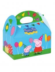 4 Cajas de cartón Peppa Pig™ 16 x 10.5 x 16 cm