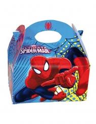 4 Cajas de cartón Spiderman™ 16 x 10.5 x 16 cm
