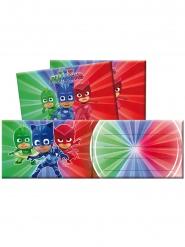 6 Tarjetas de invitación con sobres PJ Masks™