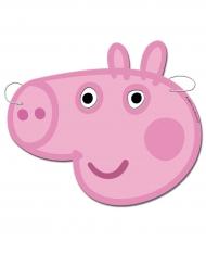 6 Caretas de cartón Peppa Pig™