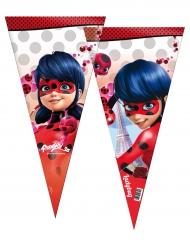 6 bolsas fiesta Ladybug™ 30 x 60 cm