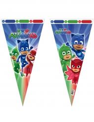 6 Bolsas grandes de fiesta PJ Masks™ 30 x 60 cm