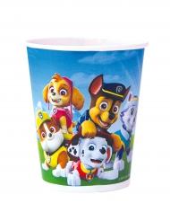 8 Vasos de cartón La Patrulla Canina™ 220 ml