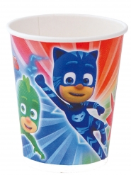 8 Vasos de cartón PJ Masks™ 220 ml