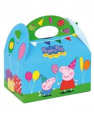 Caja cartón Peppa Pig™ 16 x 10.5 x 16 cm