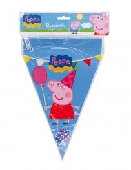 Guirlanda con banderines Peppa Pig™ 20 x 30 cm 3 m