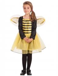 Disfraz abeja manga larga niña