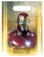 6 Bolsas regalo Avengers Infinity War™ 23 x 16.5 cm