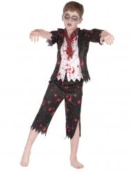 Disfraz colegial zombie niño