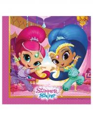 20 Servilletas Shimmer and Shine™ 33 x 33 cm