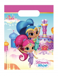 6 Bolsas regalos Shimmer and Shine™ 23 x 16.5 cm