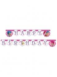 Guirlanda Happy Birthday Shimmer and Shine™ 2 m