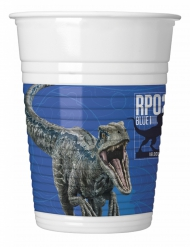 8 Vasos de plástico Jurassic World 2™ 200 ml