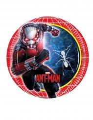 8 Platos de cartón Ant-Man™ 23 cm