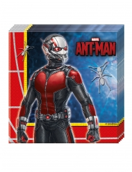 20 Servilletas de papel Ant-Man™ 33 x 33 cm