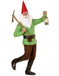 Disfraz duende verde adulto