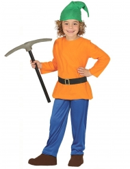 Disfraz enanito de la mina niño
