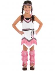Disfraz india rosa niña