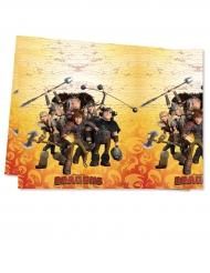 Mantel de plástico Dragones™ 120 x 180 cm