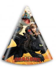 6 Gorros de fiesta Dragons™