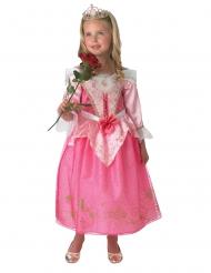 Disfraz Aurora™ con corona niña