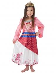 Disfraz pricesa Mulan™ con corona niña