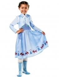 Disfraz Anna felices fiestas con Olaf™ niña