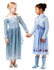 Disfraz Elsa Felices fiestas con Olaf™ niña
