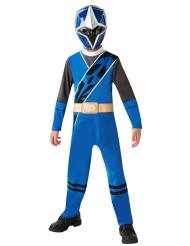 Disfraz clásico Power Rangers Ninja Steel™ azul niño